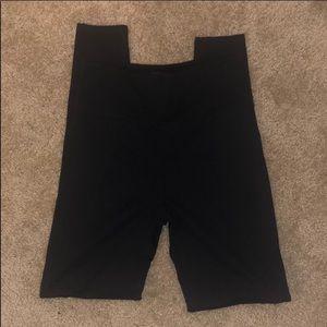 NWOT SPANX Black Shaping Leggings L